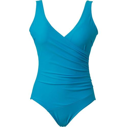 Beachcomber Crossover Swimsuit - Turquoise